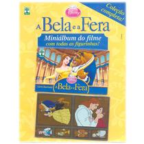 Miniálbum De Figurinhas A Bela E A Fera Disney Completo