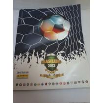 Álbum Figurinhas Campeonato Brasileiro 2013 Livro Ilustrado
