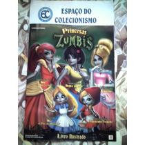 Álbum Princesas Zumbis Vazio + Lote Com 100 Figurinhas