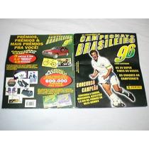 Album De Figurinhas Antigo Campeonato Brasileiro 96 Barbada