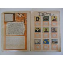 Album De Figurinhas História Do Brasil! Ed. Aquarela 1971!