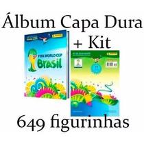 Álbum Copa Do Mundo 2014 Capa Dura Completo Para Colar 649
