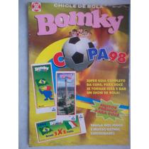 Álbum Bomky Copa 98 Incompleto