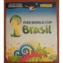 Álbum Copa Do Mundo 2014 - Capa Dura - Completo - Para Colar