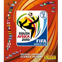 Álbum Figurinhas Virtual Copa Do Mundo 2010 Panini Completo