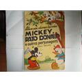 Álbum Mickey, Pato Donald E Outros... - Completo - Antigo
