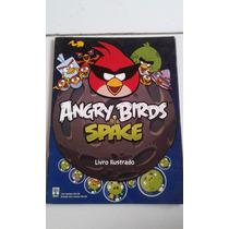 Álbum Angry Birds Space Sucata 52 Figurinhas