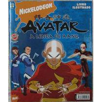 Album Figurinhas - Avatar A Lenda De Aang Nick