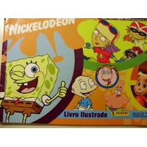 Super Pacote -2 Albuns E 90 Figurinhas - Album Nickelodeon
