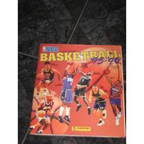 Álbum De Figurinhas Nba Basketball 95-96 ( Perfeito )