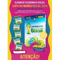 Álbum Copa Mundo Capa Dura Pronta Entrega - Frete Grátis!