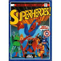 Álbum Figurinhas Superherois! Marvel Comics Group Escaneado
