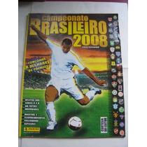 Álbum Campeonato Brasileiro 2008 - C/ 42 Figurinhas