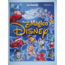 Álbum Mundo Mágico Disney 2012 - C/ 3 Figurinhas