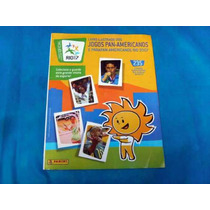 Antigo Álbum De Figurinhas Jogos Panamericanos Rio 2007