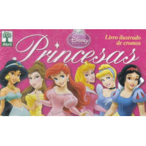 Miniálbum Princesas - Completo - Para Colar