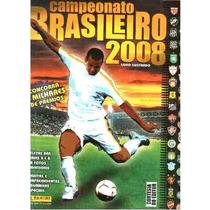 Albúm De Figurinhas Campeonato Brasileiro 2008 Panini