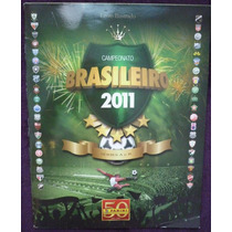 Álbum De Figurinhas Campeonato Brasileiro 2011 - Vazio