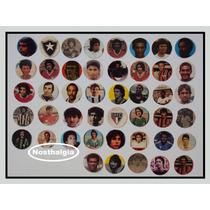 Carinhas De Jogadores - Futebol De Botão - Anos 70 - F(203)