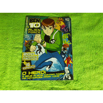Álbum De Figurinhas Ben 10 Alien Force - Semi Completo