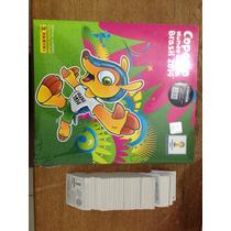 Álbum Copa Do Mundo 2014 Capa Dura + 649 Figurinhas P/ Colar