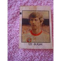 Burjak - Polonia - Copa 82 - Figurinha Ping Pong - Antigo