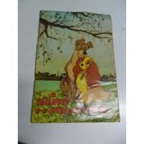 Álbum A Dama E O Vagabundo! Ed. Vecchi 1958! Completo!