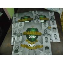 Lote 3 Albuns Campeonato Brasileiro 2012