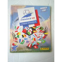 Album Copa Da França 98 - Faltam 3 Figurinhas - Ed Panini