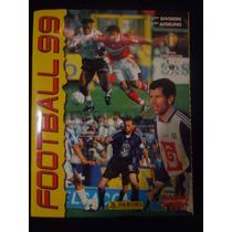 Album Football 1999 Belgique Panini Completo Colado