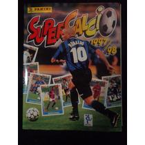 Album Super Calcio Italia 97/98 - Panini Completo Colado