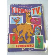 Album Festival Turma Da Tv - Hanna-barbera - Ed Saraiva 1977