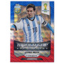 Cards Copa 2014 Prizm World Cup Blue Red Wave Stars Messi