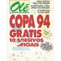Album Tabela Revista Olé Copa 94 - Completo