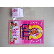 Álbum De Figurinhas Filly Princess C/ Figurinhas ! !