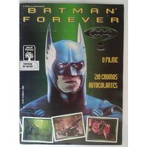 Album De Figurinhas Batman Forever