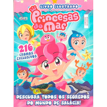 Álbum Figurinhas Princesas Do Mar 2009 Completo Para Colar