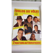 Álbum Figurinhas Ídolos Do Volei - Completo - Raro