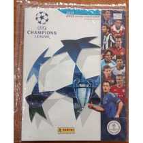 Alb232 Álbum Figurinha Incompleto Uefa League 2012 2013
