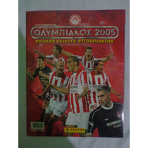 Album Olympiacos 2005- Centenario Completo Panini Colado