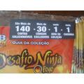 Kit Cards Club Penguin Desafio Ninja Fogo