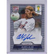 Cards Copa 2014 Prizm Autografado Alexi Lalas Usa