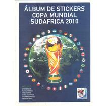 Álbum Copa Mundial Sudafrica 2010 Figurinhas Soltas Colonia