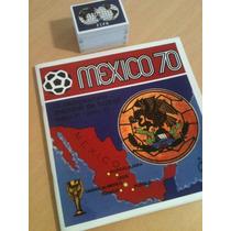 Álbum Copa Do Mundo México 1970 - Panini - Completo