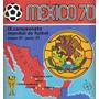 Álbum De Figurinhas Completo Copa Do Mundo 1970 Panini (dg)