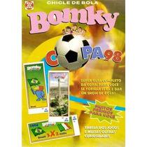 Brasil 1998 Álbum Chicle De Bola Bomky Copa 98