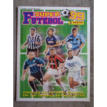 Album Super Futebol - Ano 1999 - Panini - 180 Figurinhas