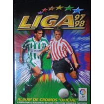 Album Liga Espagna 1997/98 Completo Colado
