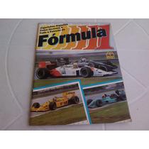 Album Formula 1 - Faltam 11 Figurinhas - Multi Editora -1988
