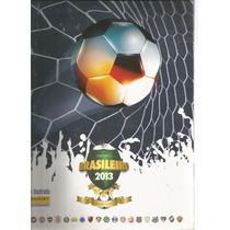 Album Figurinhas - Campeonato Brasileiro 2013 - Incompleto